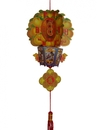Feng Shui Import New Year Decoration Charm - Tangerine Lantern - 4169