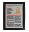 Feng Shui Import Avalokitesvara Plaque - 4198