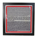 Feng Shui Import Heart Sutra Plaque - 4223