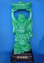 Feng Shui Import Jade Color Big Buddha Statue - 4325