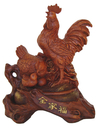 Feng Shui Import Harmony Rooster Statues - 4398
