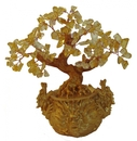 Feng Shui Import Citrine Tree in Dragon Pot - 4445
