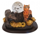 Feng Shui Import Tiger, Ox and Crystal Ball - 4485