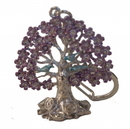 Feng Shui Import NGAN CHI Wealth Tree KeyChain Amulet - 4493