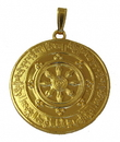 Feng Shui Import Powerful Protection Against 8 Kinds of Black Magic Medallion - 4503