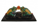 Feng Shui Import Pair of Money Toads - 4562