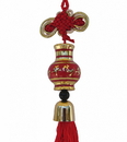 Feng Shui Import Wealthy Vase Safety Charm - 4606