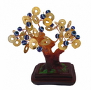 Feng Shui Import Money Tree with Evil Eye Jewels - 4607