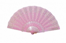 Feng Shui Import Pink Hand Fan - 4655