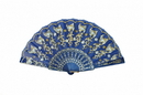 Feng Shui Import Blue Hand Fan - 4659