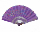 Feng Shui Import Purple Hand Fan - 4664