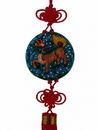 Feng Shui Import Colorful Chi Lin Charm - 4687