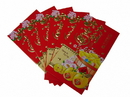 Feng Shui Import 4722 Big Chinese Money Envelopes with Coin Pictures