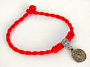 Feng Shui Import 4740 Red Bracelet with Coin