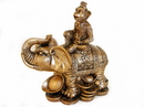 Feng Shui Import 4746 Monkey on Elephant