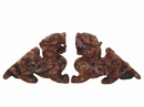 Feng Shui Import 4763 Pair of Natural Stone Pi Yao Statues