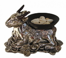 Feng Shui Import 4821 Wishfulfilling Cow with Cowrie Shells