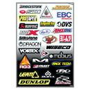 Factory Effex Sponsor Kit D Sticker Sheet