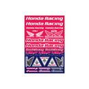 Honda Racing Sticker Sheet