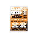 KTM SX Sticker Sheet