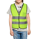 TOPTIE Kid Safety Vest High Visibility Pack of 6 Reflective Uniforms Children Construction Costume