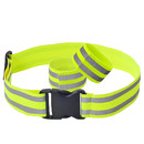 TOPTIE Reflective Bands for Wrist, Arm, Ankle, High Visibility Reflective Running Gear, Reflective Belt for Running, Walking, Cycling