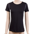 TopTie Women's Compression Fitness Short Sleeve Crew Neck Shirt