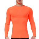 Wholesale TopTie Men's Compression Long Sleeve Shirt sports Base layer