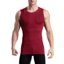 TopTie Mens Slimming Body Shaper Vest Shirt, Undershirt Sleeveless