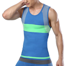 TopTie Compression Top Vest, Color Block Sleeveless Exercise Tights