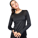 TOPTIE Women's Workout Tee Tops Long Sleeve Yoga Running Gym Sports T-Shirt