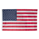 Aspire 3X5 Feet Embroidered Details US American Flags, Outdoor Stars and Stripes Patriotic USA Country Banner