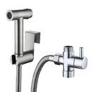 Muka Handheld Bidet Sprayer for Toilet 18/8 Premium Stainless Steel Bidet/Shower Attachment, Perfect for Feminine Hygiene, Washing Baby Diaper Cloth