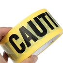 Muka Yellow CAUTION Tape Roll Non-Adhesive Construction Safety Barrier Tape, 3 inch x 330 ft.