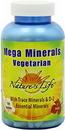 Nature's Life 257 Vegetarian Mega Minerals