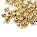 Muka Bell 200 Pcs Jewelry Making Charm Jingle Bell Pendant 1/2 and 1/4 Inch for DIY Craft