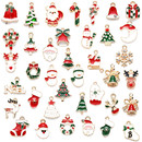 76 Pieces Charms Christmas Pendants, Mixed Style, Craft Supplies for Bracelet Necklace, Earring Making, Sewing Craft Decoration