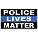 Xtreme Endurance Policeives Matter Bumper Sticker 20 Pack
