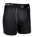 Fromuth 20000-002/2U01Bb-002 2Undr Swing Shift Boxer Brief (Black)