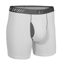 Fromuth 20000-022/2U01BB-022 2UNDR Swing Shift Boxer Brief (White/Grey)