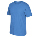 Adidas 3720-011 Short Sleeve Logo Tee, Light Blue