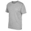 Adidas 3720-MCF Short Sleeve Logo Tee, Medium Grey Heather