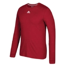 Adidas 629T-URD Go To Performance L/S Tee (M), Power Red