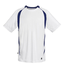 Duc M1462-WNV Team Precise Crew Top (M), White/Navy