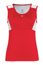 Duc W1671-RDW Look-Out Tank, Red/White