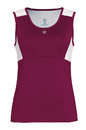 Duc W1671-MAW Look-Out Tank, Maroon/White
