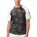 Fila TM181P23-001 Core Printed Crew Top, Black/White