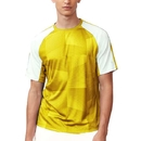 Fila TM181P23-739 Core Printed Crew Top, Team Gold/White
