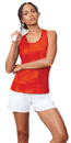 Fila TW181R49-870 Core Racerback Printed Team Tank, Team Orange