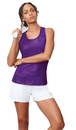 Fila TW181R49-500 Core Racerback Printed Team Tank, Team Purple